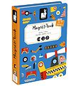 Janod Magnet Book - Racers