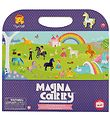 Tiger Tribe Magnet Book - Magna Carry - Unicorn Kingdom