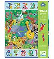 Djeco Giant Puzzle - 54 Pieces - 70x50 cm - Jungle