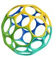 Oball Classic Ball - 8 cm - Blue/Turquoise/Yellow/Green
