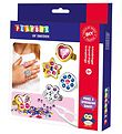 Playbox Creative Set - Make Sparkling Rings - 8 pcs