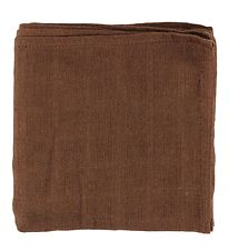 Pippi Muslin Cloth - 70x70 - Brown