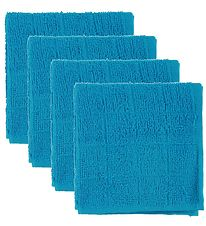 Pippi Wash Cloth - 4-Pack - Turquoise
