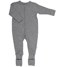 Joha Night Suit - Wool - Grey