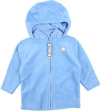 Joha Zip Thru Hoodie - Velvet - Light Blue