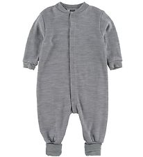 Joha Jumpsuit - Wool/Lycra - Grey