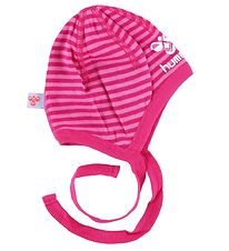 Hummel Baby Hat - The Garden - Pink Striped