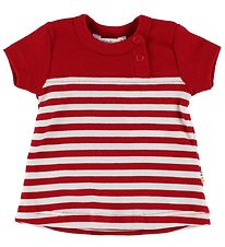 Joha T-shirt - Red/White Striped