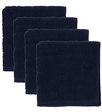 Pippi Washcloth - 4-Pack - Dark Navy