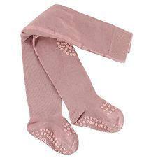 GoBabyGo Non-Slip Tights - Rose