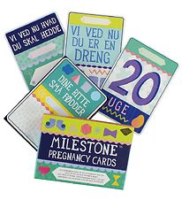 Milestone Pregnancy Cards - Danish - 30 pcs