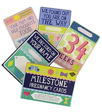Milestone Pregnancy Cards - English - 30 pcs