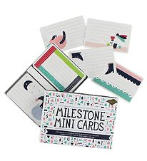Milestone Mini Cards - Danish - 100 pcs