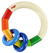 HABA Rattle - Wood - Kringelring