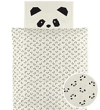 Liewood Bed Linen - Baby - Ivory w. Panda
