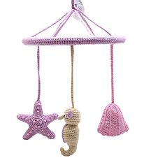 NatureZoo Baby Mobile - Lavender w. Starfish/Seahorse/Mussel