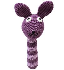 NatureZoo Rattle - Mrs. Rabbit - Purple/Lavender