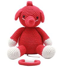 NatureZoo Musical Mobile - Mrs. Elephant - Red