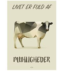Hipd Poster - A4 - Cow