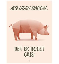 Hipd Poster - A4 - Pig Bacon