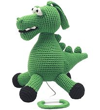 NatureZoo Musical Mobile - Sir Crocodile - Green