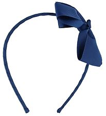 Bows By Stær Hairband - Navy w. Bow