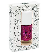 Nailmatic Nail Polish - Sheepy - Raspberry Glitter