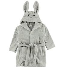 Liewood Bathrobe - Grey w. Rabbit