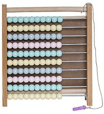 Bloomingville Abacus - Wood w. Mint/Pink/Light Yellow