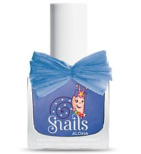 Snails Aloha Nail Polish - Waves - Blue w. Glitter