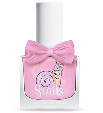 Snails Nail Polish - Candy Floss - Pink w. Glitter