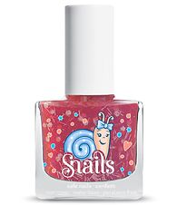 Snails Nail Polish - Candy Cane - Pink Glitter Mix