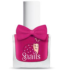 Snails Nail Polish - Cheerleader - Dark Pink w. Glitter