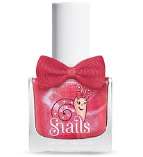 Snails Nail Polish - Disco Girl - Pink w. Glitter