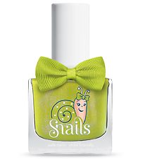 Snails Nail Polish - Prince Frog - Light Green w. Glitter