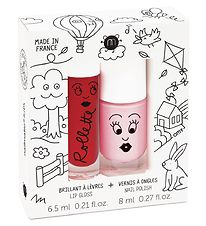 Nailmatic Nail Polish/Lipgloss - Powder/Cherry