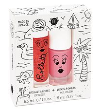 Nailmatic Nail Polish/Lipgloss - Pink/Strawberry