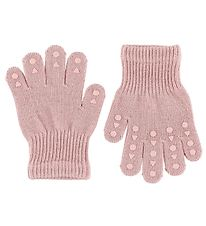 GoBabyGo Gloves - Rose w. Non-Slip
