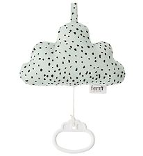 ferm Living Musical Mobile - Cloud - Mint/Dots
