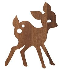 ferm Living Wall Lamp - Deer - 29x38 - Smoked Oak