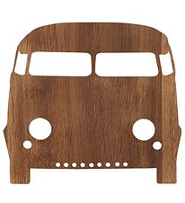 ferm Living Wall Lamp - Car - 27x22 - Smoked Oak