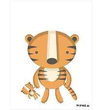 W:form Poster - 30x40 - Tiger