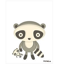 W:form Poster - 30x40 - Raccoon