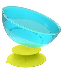 KidsMe Suction Bowl - Lime/Turquoise