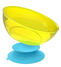 KidsMe Suction Bowl - Turquoise/Lime