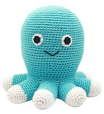 NatureZoo Soft Toy - Sir Squid - Turquoise