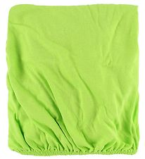 Nørgaad Madsens Bed Sheet - 70x160 - Lime Green