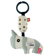 Done By Deer Clip Toy - Nozo - Mint/White