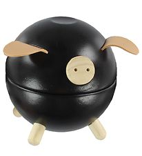 PlanToys Piggy Bank - Black
