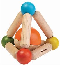 PlanToys Clutching Toy - Triangle - Multicolour